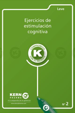 Ejercicios de estimulación cognitiva (Fase Leve 2)